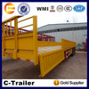 China High Quality 3 Axles 40Tons Fiberglass Motorcycle Trailers