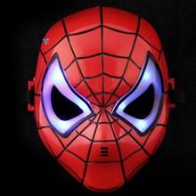 Led Glowing Spider-man Cartoon Masks