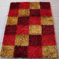 modern style 3d polyester shaggy carpet and rug for sale
