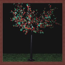 New indoor or outdoor garden decorative 2m tall christmas LED artificial flower trees light