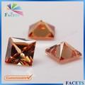 las facetas gemas la personalización de la fabricación cúbicos circonia facetas natural de piedras preciosas en bruto