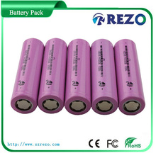 CE UL MSDS 18650 3.7v li-ion battery pack, Monomer capacity 350~5000mAh and battery pack for variety of voltage requirements
