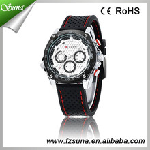 2014 Latest Style Curren Hot Military Sport Vogue Chronograph Watch
