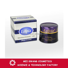 Lifpia Hydrating & Whitening collagen and elastin cream for face and for men