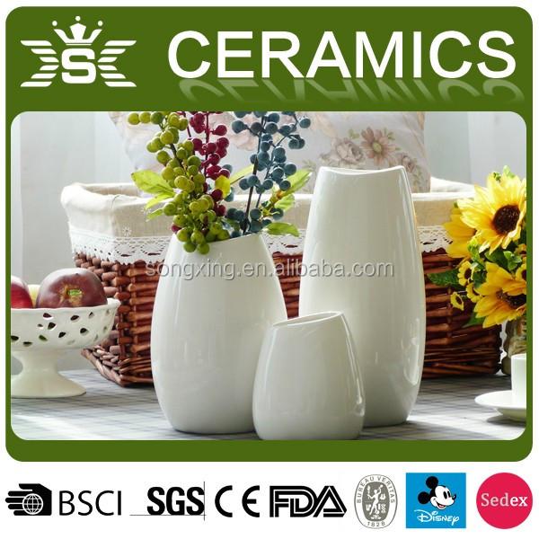 Best Selling 3 Sets Ceramic Cheap Vases Wholesale View Cheap Vases