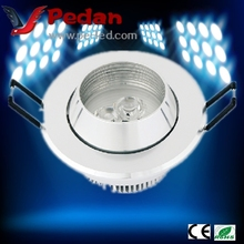 3W Non-Maintained White LED Ceiling Recessed Mounted Downlight Emergency