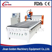 4 Axis 3D CNC Router, 3d cnc wood milling machine with 4, 8, 10 heads are avaiable