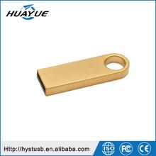 Promotional fashional usb pen Drive 32gb portable retractable metal case usb 4G 8G 16G memory sticks for key chain