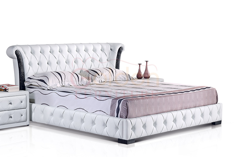 New Design Alibaba Cot Bed Wood Furniture G1051