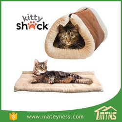 Kitty Shack 2-in-1Cat Tunnel Bed and Mat