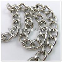 Purse Taupe Clutch Handbag Chain Handles
