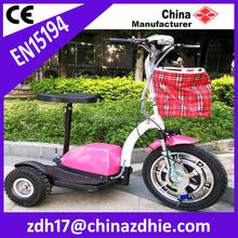 2015 new design three wheel adult cheap electric tricycle / electric tricycle scooter / electric tricycle used