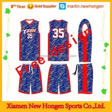 Hot Sell Cheap League Youth Basketball Uniform