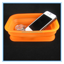 new promotional items silicone folding box kitchen organizers