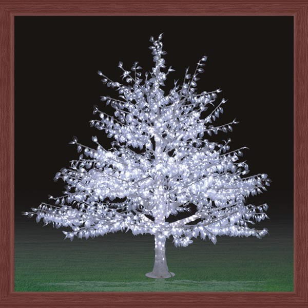 tree white outdoor lighted christmas trees outdoor led christmas tree. Black Bedroom Furniture Sets. Home Design Ideas