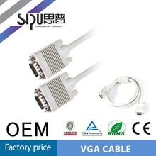 SIPU vga cable/vga cable max resolution /vga cable 15 pin