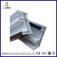 high quality window frame pvc extrusion section extruded plastic angle profile