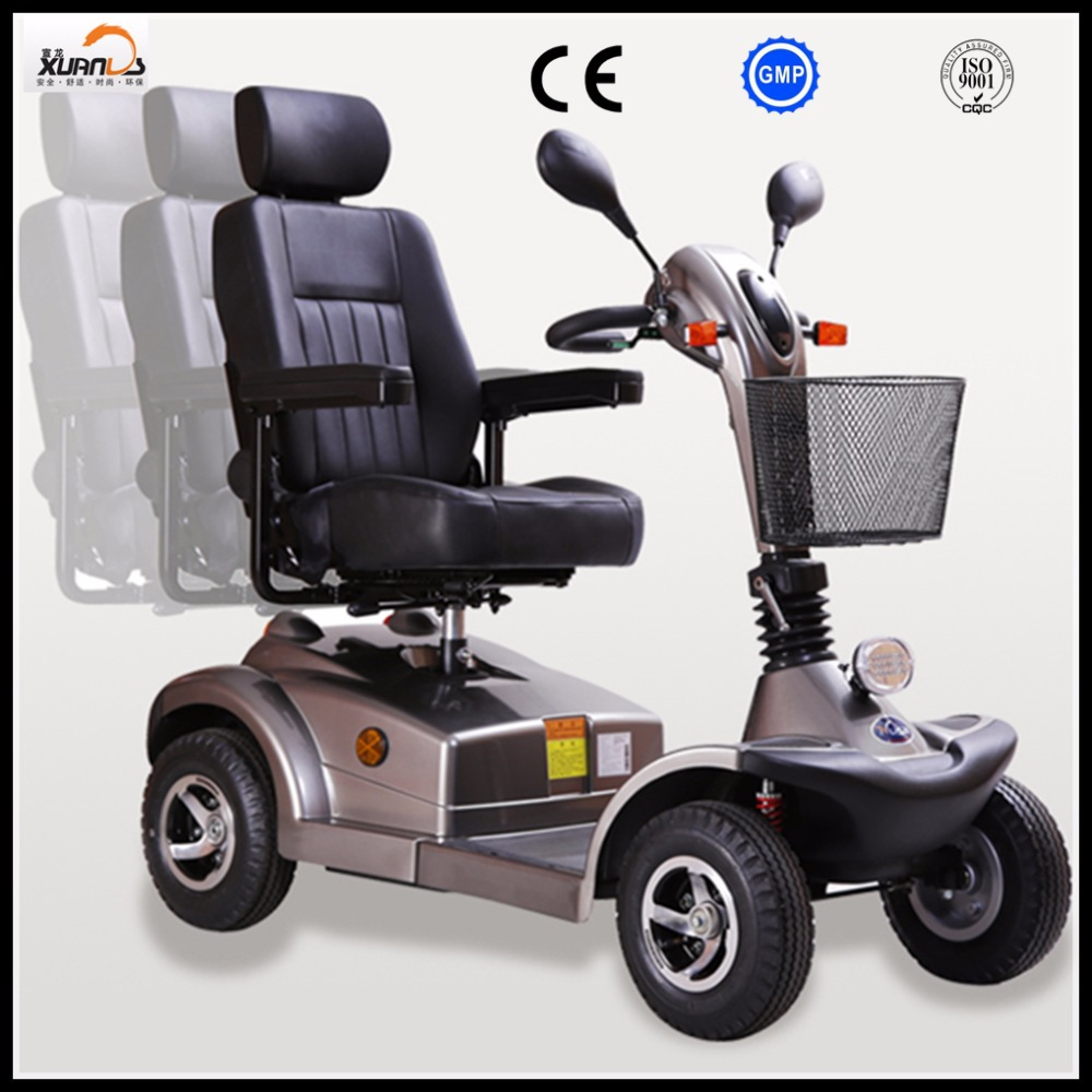 Large size disabled electric mobility scooter for elderly for Motorized scooters for elderly
