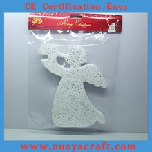 Flashing foam angel Christmas decoration pendant