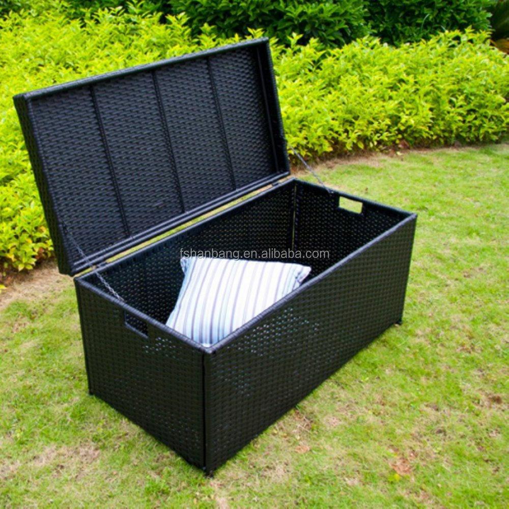 wasserdicht terrasse garten korbwaren rattan kissen kissen spielzeug deck stauraum pack box set. Black Bedroom Furniture Sets. Home Design Ideas