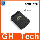 Lowest Mini gps tracker for kids only 50g G-TK102 built-in 1000mAh battery for kids children senior people
