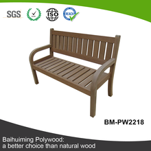 High Quality and Ecological WPC Outdoor Bench