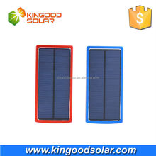 Factory price Monocrystalline solar panel 5V 2.1A dual USB portable solar power bank 20000mah for mobile phones