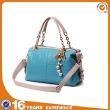 2014 spring section high quality elaborate women brand handbags,pu hand bag,ladies bags in china