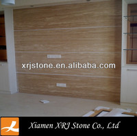 brown stone travertine price factory sell