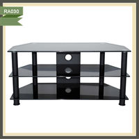 tv equipment cabinet glass tv stand pictures tv pop up cabinet RA030