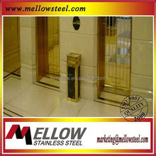 Mellow Metal Decorative Gold Sheet Stainless Steel