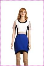 customed maxi bandage wholesale short sleeve evening dress for big sizes