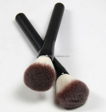 Black makeup powder brush PVC bag packed