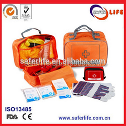Premium auto first aid kit/Car emergency kit/Road assistant kit with medical supply