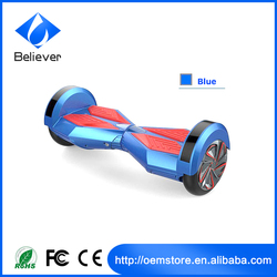 New Smart Balance Wheel 8 inch Two Wheels Bluetooth Electric Scooter With Remote Control + Bluetooth + Speaker + LED