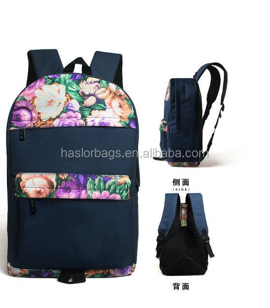 2016 nouvelle conception sacs d'école à la mode sac à dos