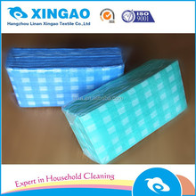 Disposable spunlace nonwoven cleaning wipe easily use nonwoven cleaning mop