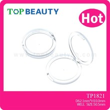 TP1821- 1- Novel Design Clear Empty Cosmetic Makeup Powder Compact