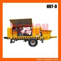 HBT-D-butterfly-valve series concrete pumps portable