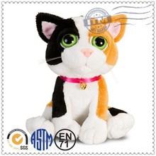 china wholesale colorful pattern plush animal heads toys