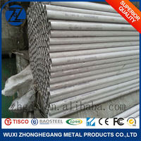 Best Selling 202 Stainless Steel Pipe Made By Advanced Machine