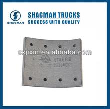 Camión de freno/camiones shacman piezas de repuesto/brak proveedor de revestimiento