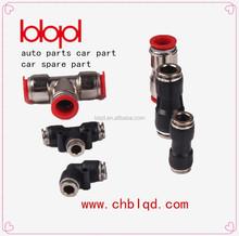 Accesorios de neumáticos conectores eléctricos tipos, accesorios de tubería de plástico. partes de camiones accesorios