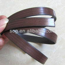 Flexible magnetic tape with strong adhesive