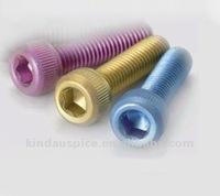 Titanium Screws - DIN912 Hex Socket Head Cap Screws