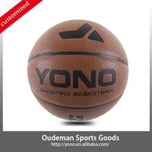 Custom New Own Brand Factory Sale for YN-813 PU laminated PU Basketball Basketballs Balls Wholesale