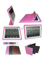 Soft PU leather holder for smart ipad mini cover
