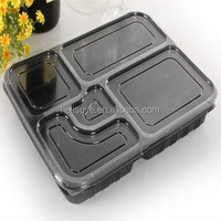Disposable plastic food container/plasctic frozen meal packaging box