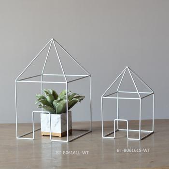 new design handmade metal craft building shape metal craft. Black Bedroom Furniture Sets. Home Design Ideas