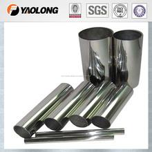 tubos de acero y tubos de acero uso en la industria de la decoración